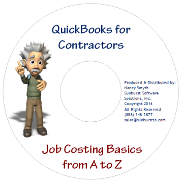 QuickBooks Job Costing Basics from A to Z on CD